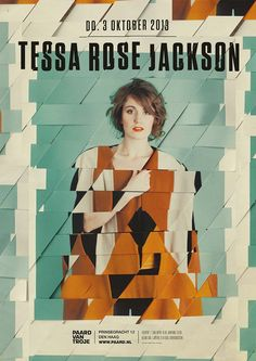 #tessarosejackson artwork by Spacebar #paardvantroje #pop