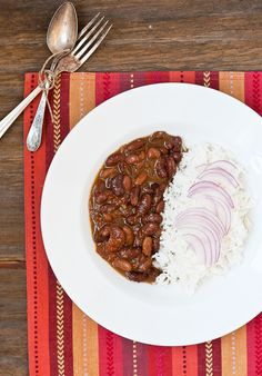 Rajma Masala, red kidney beans cooked with several spices