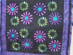 Prairie Pinwheels, Quiltworx.com, Made by Mary Ann, Quilted by Sculptured Thread Quilting with a design by Kim Diamond