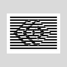 Art Prints by Gvardian Gyula - INPRNT Op Art, Illusions, Art Prints, Abstract, Artwork, Painting, Art Impressions, Summary, Work Of Art