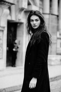 amy-ambrosio:  Antonina Vasylchenko after Chanel Haute Couture S/S 2014, PFW.