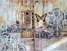 © Susie King 2014 mixed media art journal