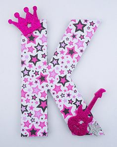 Custom Rockstar Princess Letter Decor by TheRCB on Etsy, $10.00