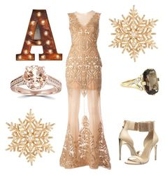 """""""The A-List"""" by cnm9698 on Polyvore featuring Zuhair Murad, Susan Caplan Vintage, Vintage, BCBGMAXAZRIA, women's clothing, women, female, woman, misses and juniors"""