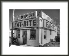 https://www.etsy.com/listing/213646551/eat-rite-diner-black-and-white-diner #eatrite #diner #stl