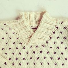Svends Sweater - storebror edition #knit #instaknit #knitting #barnestrikk .  strikdet.etsy.com