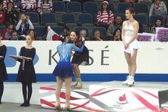 Yuka Nagai(JAPAN) Elizaveta Tuktamysheva(Russia) and Ashley Wagner(USA) : Skate Canada 2015