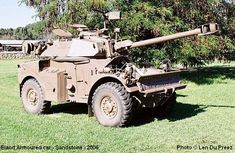 "This was the ""car"" I got to ride around in for 2 years from Eland Armoured car, also known as a Noddy Car. Military Gear, Military Equipment, Military History, Army Vehicles, Armored Vehicles, South African Air Force, Armoured Personnel Carrier, Defence Force, Armored Fighting Vehicle"