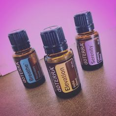 My 3 favorite @doTERRA #essentialoils: Breathe Elevation and Serenity  - I use #Breathe each AM & PM to clear my nose and ease my breathing - I use #Elevation throughout the day to enhance my meditations and provide an uplift of joyful spirit and - I use #Serenity for relaxation and sleep (especially while in the #infraredsauna at @firmbodyevolution!) Since they're all-natural and derived from the cells of plants... Essential oils are the medicine of the #holistic age!   Have you tried them?…