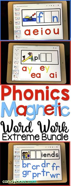 Looking for something very comprehensive for phonics activities? These digital word work cards include 121 hands-on centers ready to use! Simply assign them in Google Classroom and students use in the Slides app. This paperless phonics resource is interactive and covers cvc words, medial sounds, long vowels including magic e and vowel pairs, blends, digraphs, diphthongs, bossy r, and ending blends. It can be used in kindergarten, first grade, and 2nd grade classrooms.