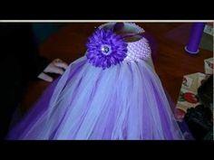 How to Make a Tutu Dress with a Crochet Headband