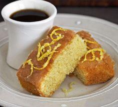 Swirly lemon drizzle fingers recipe - Recipes - BBC Good Food
