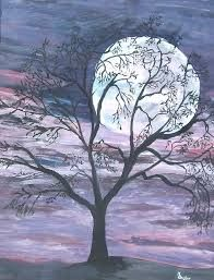 Image result for moon painting
