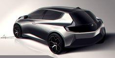 Car Design Sketch, Car Sketch, Volvo, Chrysler Valiant, Id Design, Auto Design, Chrysler Cars, Industrial Design Sketch, City Car