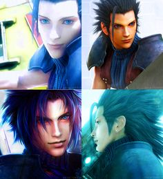 I've never had the pleasure of playing the game, but I am well aware of Zack's background, and I've watched the movie (Final Fantasy VII: Advent Children)