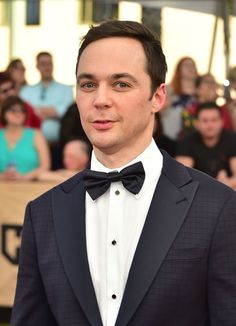 Jim Parsons Photos Photos - Actor Jim Parsons arrives for the 23rd Annual Screen Actors Guild Awards at the Shrine Exposition Center on January 29, 2017, in Los Angeles, California. / AFP / FREDERIC J. BROWN - 23rd Annual Screen Actors Guild Awards - Arrivals