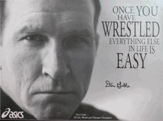 Dan Gable - On the mat, he had an amazing run through high school and college, compiling a combined 182-1 record. After winning his first 117 matches at Iowa State, including two NCAA championships, the three-time All-American suffered his lone defeat when he was upset as a senior in the 1970 NCAA final.    Gable rebounded and starred in international competition, climaxed by his winning a gold medal at the 1972 Olympics, where he didn't surrender a point in six matches.