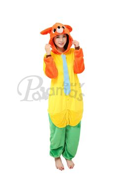 Disney Zootopia Fox Nick Kigurumi Onesies Costume Hoodie Pajamas