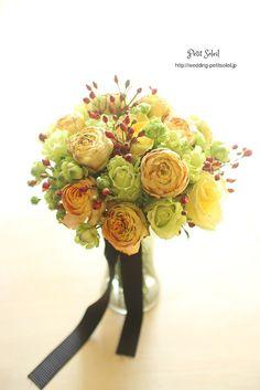 イエローローズブーケ yellow rose bouquet