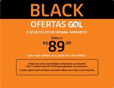 Corre! Super Feirão GOL tem passagens promocionais com trecho de volta a partir de R$ 89!