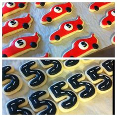 Cars and truck sugar cookies are a great theme for a special little boys birthday party. Description from pinterest.com. I searched for this on bing.com/images