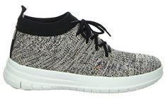Fitness Schuhe Sneaker - Uberknit Slip On High Top, hellgrau. Clogs, High Tops, High Top Sneakers, Sneakers Nike, Fitflop, Workout Wear, Partner, Nike Free, Metal