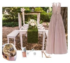 """Boho Style Wedding"" by vanessalanzafame on Polyvore featuring moda, Elie Saab, Amanda Rose Collection e Christian Dior"