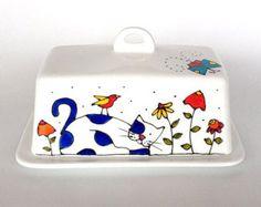 Tuile céramique peint à la main 6 x 6 couple