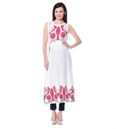 Jalebe trendy tunic for women INDTJBL025