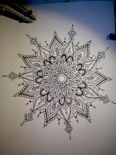 #mandala #design #flower #tattoo #art