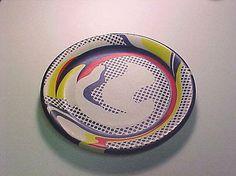 Paper Plate By Roy Lichteinstein  Medium Screenprint on paper