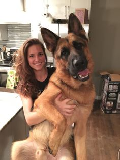 My Dog Is Bigger Than MeIt is A Beautful Gift From My Husband