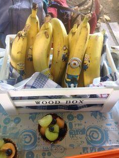 Minions bananas! Healthy birthday party