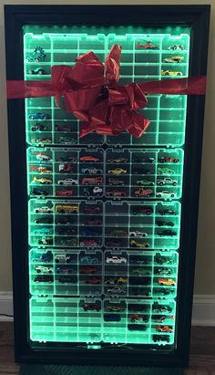 Hot wheels collectors LED display case