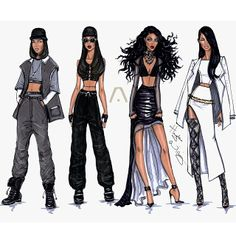 The Evolution of Aaliyah by Hayden Williams #HappyBirthdayAaliyah