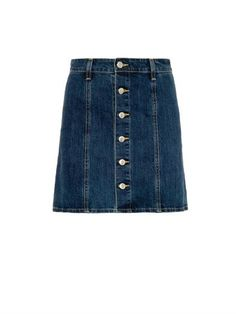 The Kety denim skirt | Alexa Chung For Ag | MATCHESFASHION.COM