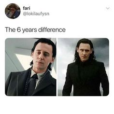 I still miss old Loki too. This new Loki is A M A Z I N G but old Loki was I don't know.you want to protect them both but new Loki is wiser in some ways. Loki Marvel, Loki Thor, Tom Hiddleston Loki, Marvel Funny, Marvel Memes, Marvel Dc Comics, Loki Funny, Loki Avengers, Avengers Memes