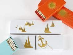 The Joy of Light | Photo Gallery: View photos of our designer and personalized match boxes.