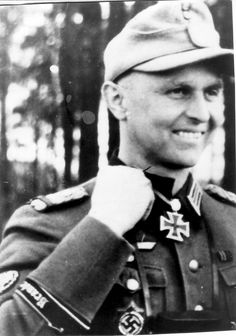 Karl-Heinz Oesterwitz. In October 1940 Oesterwitz was commander of the 7th Company of the Brandenburg Regiment. In April 1941 he took part in the Balkans Campaign and from June 1941 fought on the Eastern front. For the capture of an important bridge in August 1942 at Belorechenskaya during the advance into the Caucasus he was awarded the German Cross in Gold (13 December 1942). While still a first lieutenant, he won the Knight's Cross (30 April 1943) for an action in the West Caucasus.