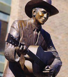 Hank Williams Statue, Montgomery, AL