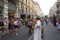 Juillet 2011 - parade du festival off