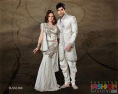 GROOMS MODERN WEDDING ATTIRE | ... Sherwani and Salwar Kameez Dresses Collection Pakistani Dulha Dresses