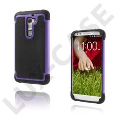 Impact (Lilla) LG G2 Ultra-Sikkert Deksel