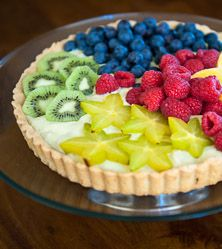 Fruit Tart from the Nourished Grain-Free Recipes iOS app