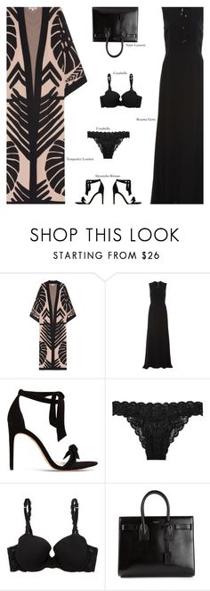 """Untitled #3069"" by amberelb ❤ liked on Polyvore featuring Temperley London, Rosetta Getty, Alexandre Birman, Cosabella and Yves Saint Laurent"