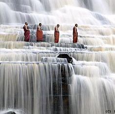 a buddhist temple in Vietnam.