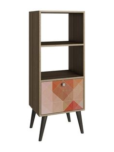 Accentuations Sami Double Bookcase by Manhattan Comfort at Gilt