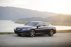 We added some sharp new lines and a more aggressive grille to the redesigned 2016 Accord Coupe, making it more striking than the mountains at sunset.