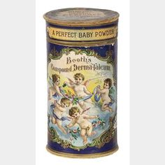 Booth's Talc | Antique Advertising