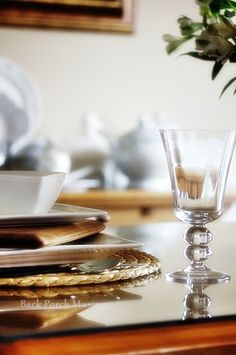 Textures and Layers Tablescape